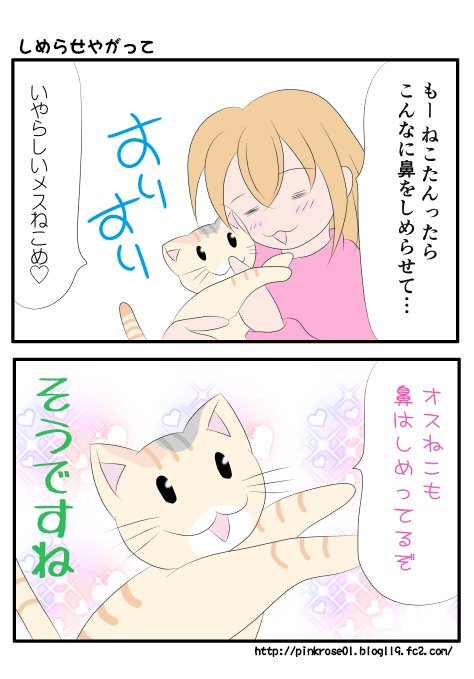 普通猫はしめってるぞ漫画